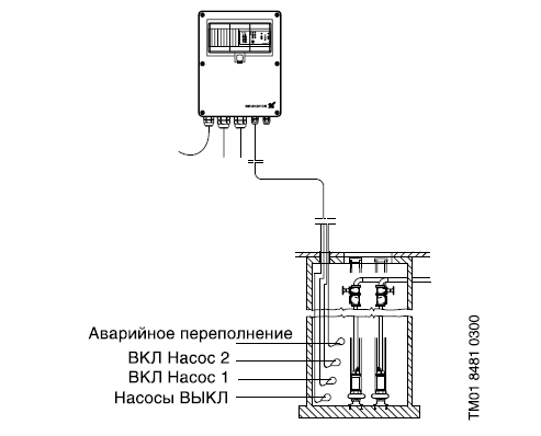 Схема монтажа LCD